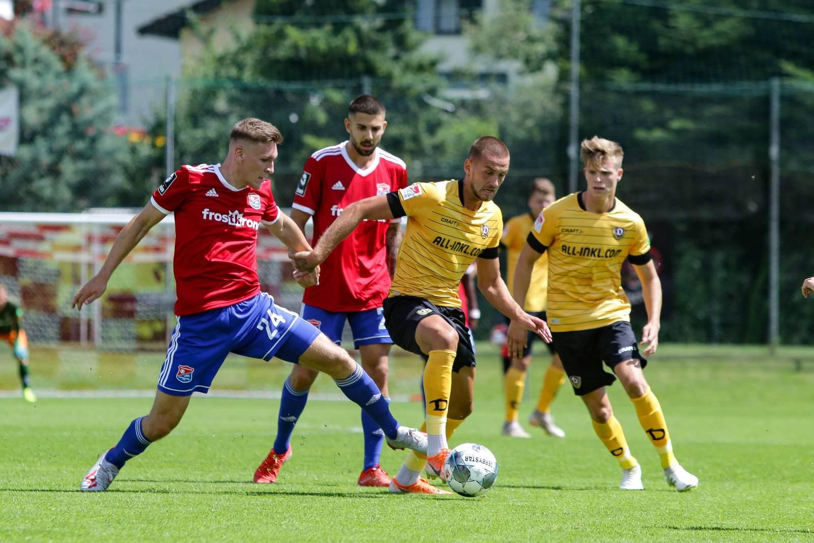Niclas Stierlin gegen René Klingenburg