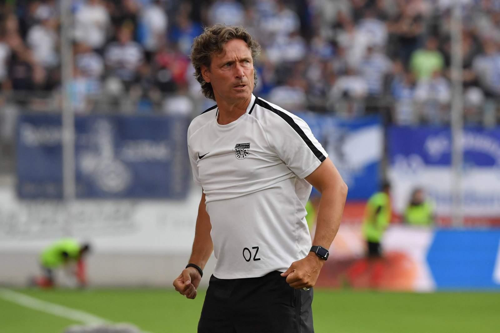 Oliver Zapel gegen Duisburg.