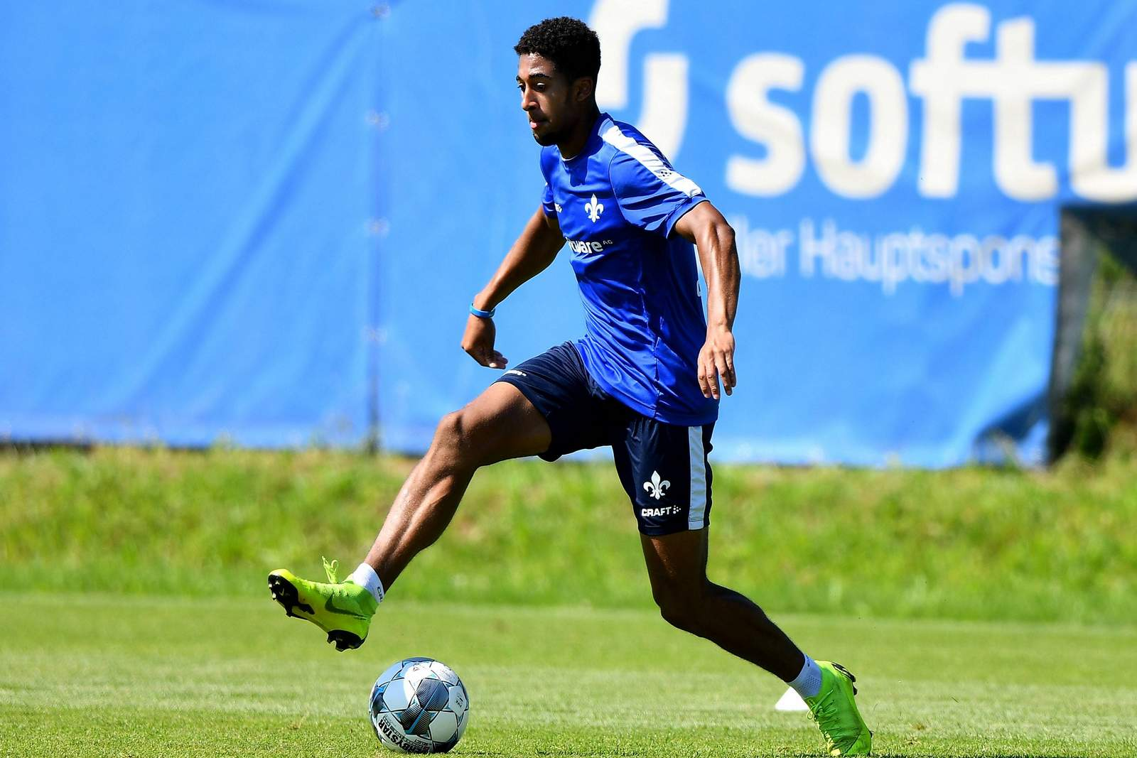 Orrin McKinze Gaines II im Lilien-Training.