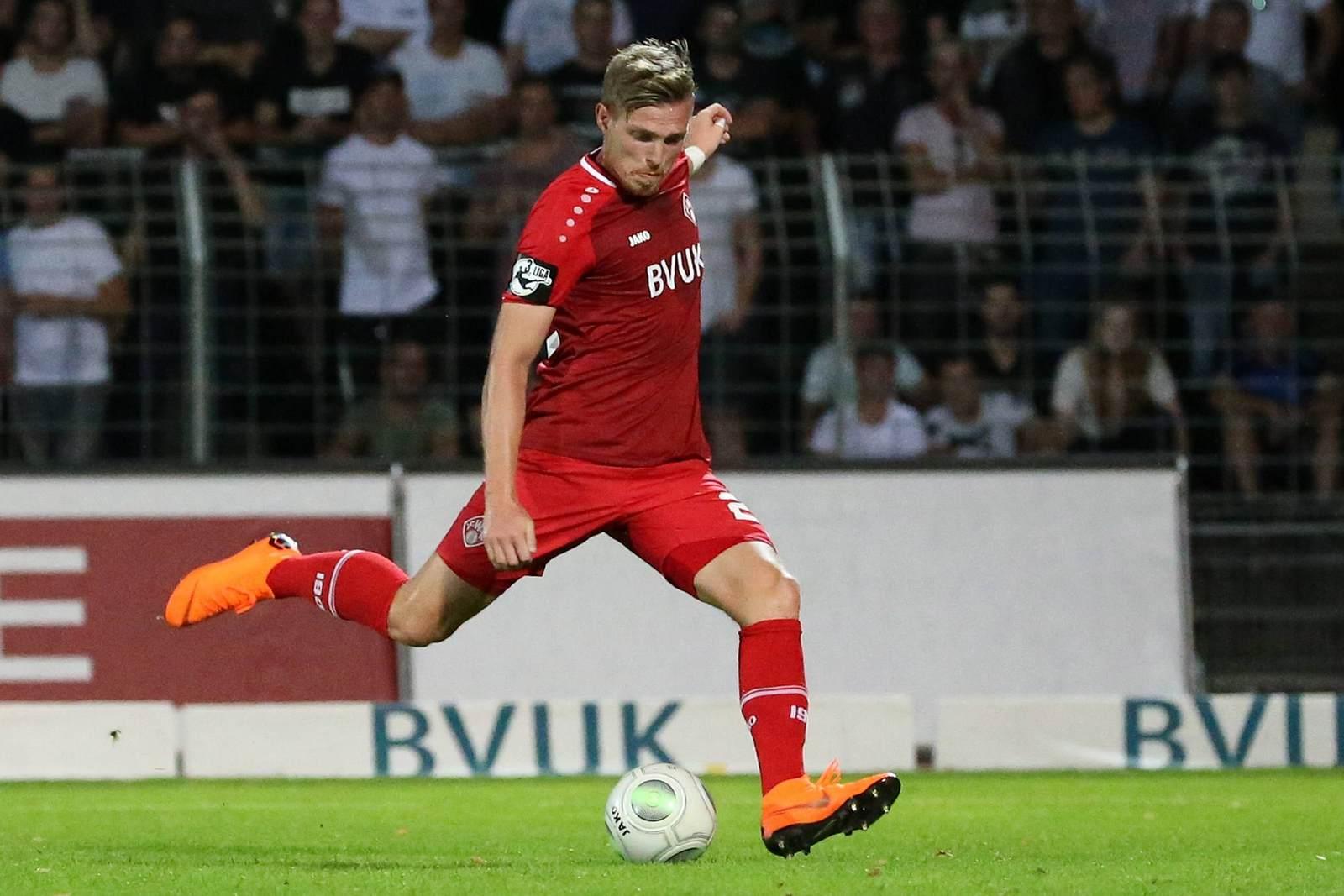 Patrick Breitkreuz bei den Würzburger Kickers