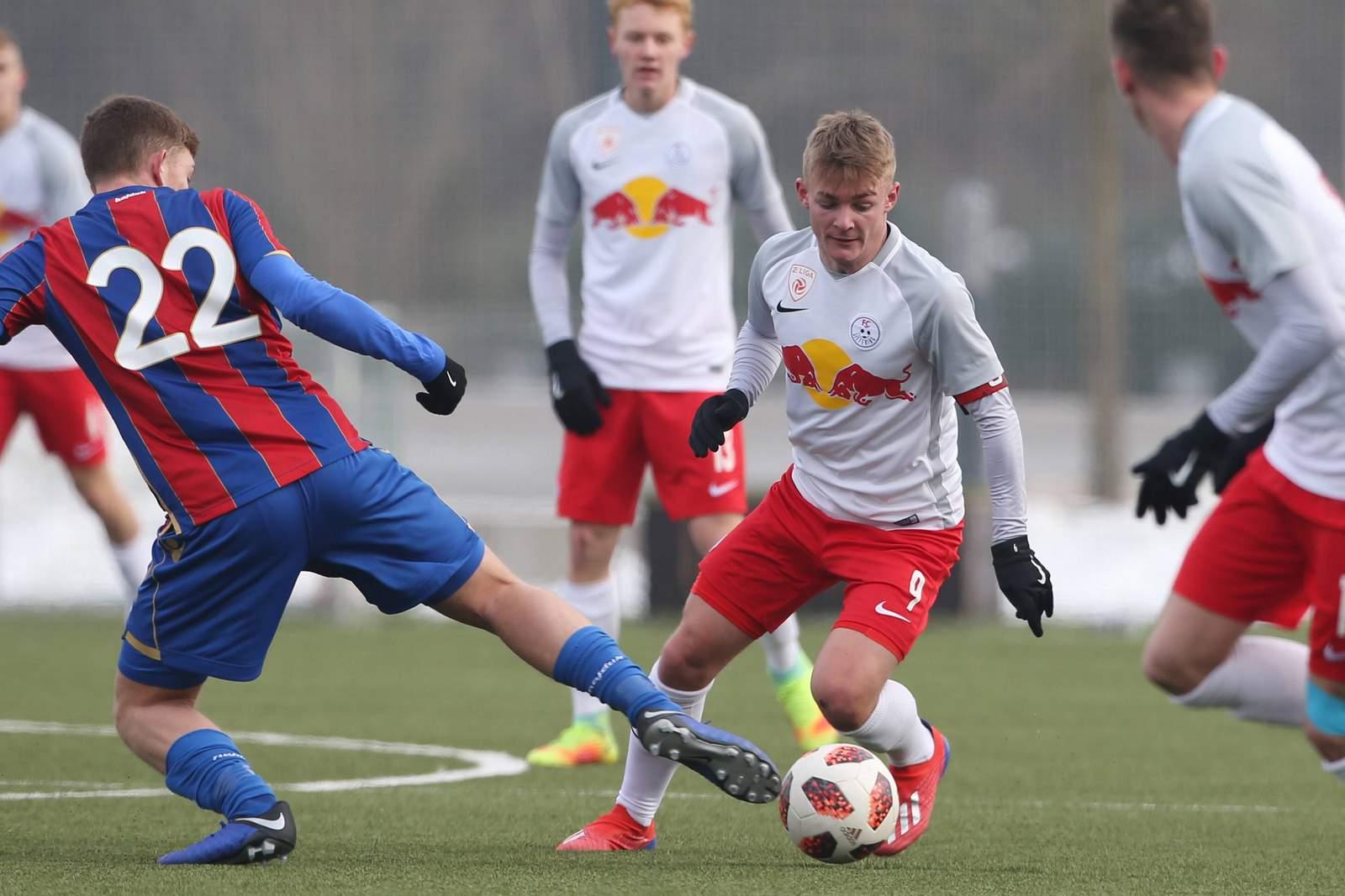 Philipp Sturm im Salzburg-Dress.