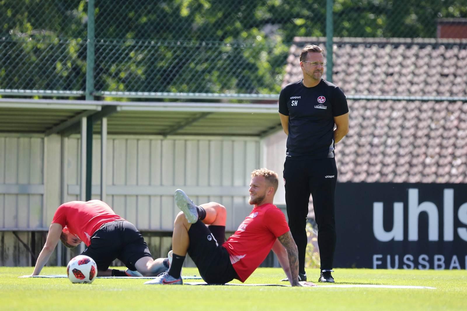 Sascha Hildmann im Training