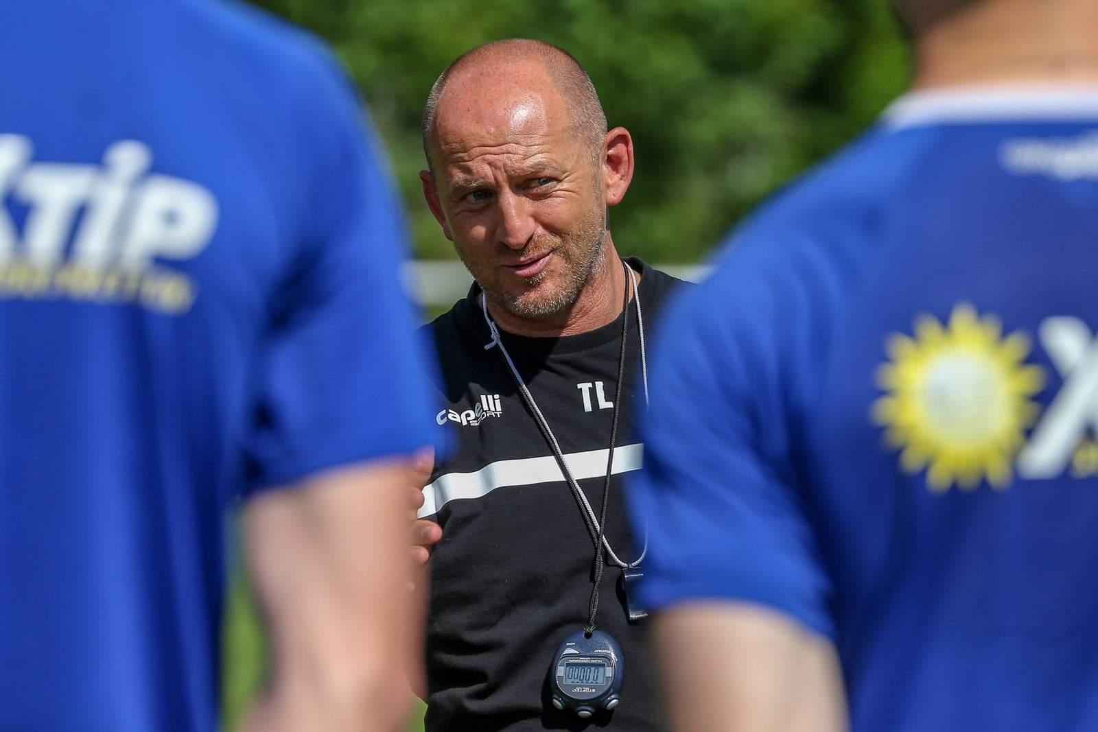 Torsten Lieberknecht im Training.