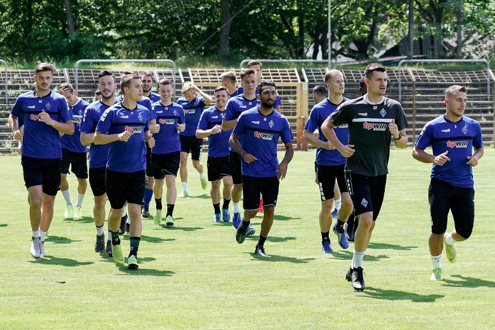 Der SV Waldhof Mannheim dreht seine Runden