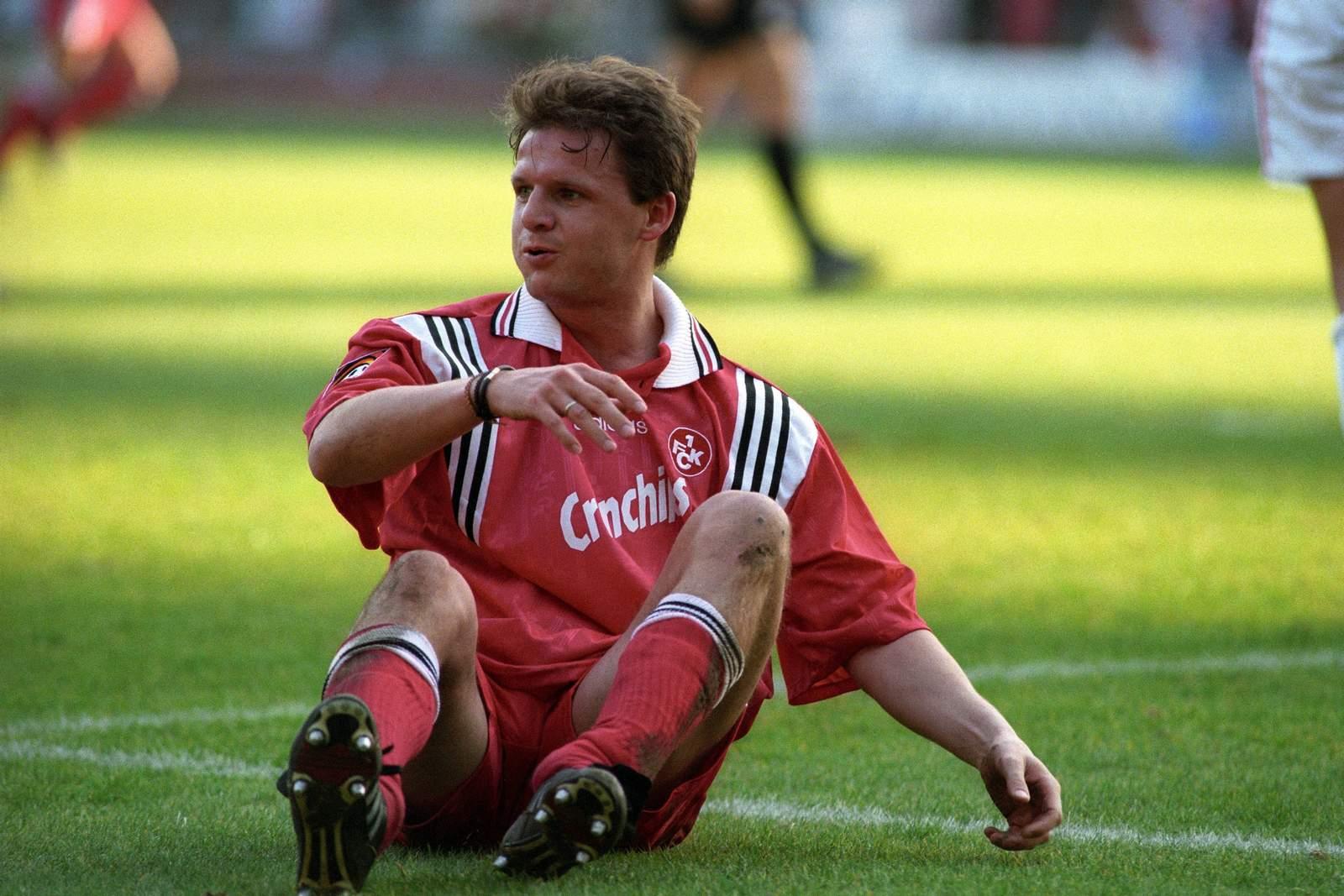 Jürgen Rische beim FCK