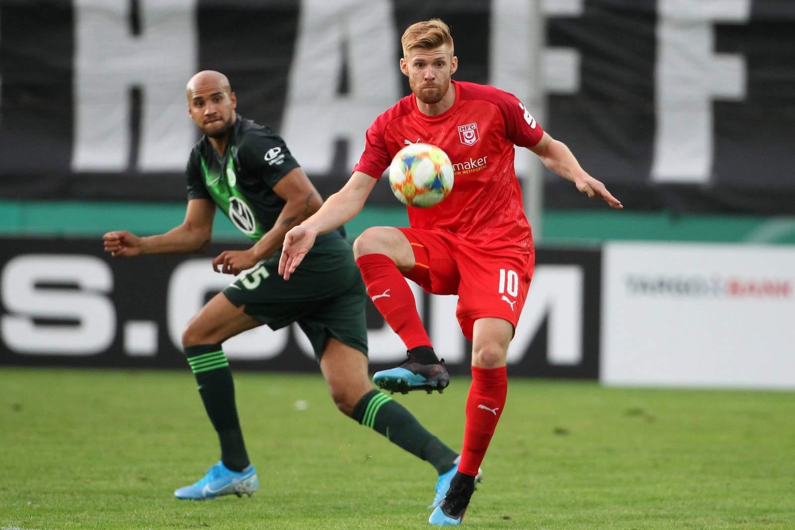 Mathias Fetsch vom Halleschen FC