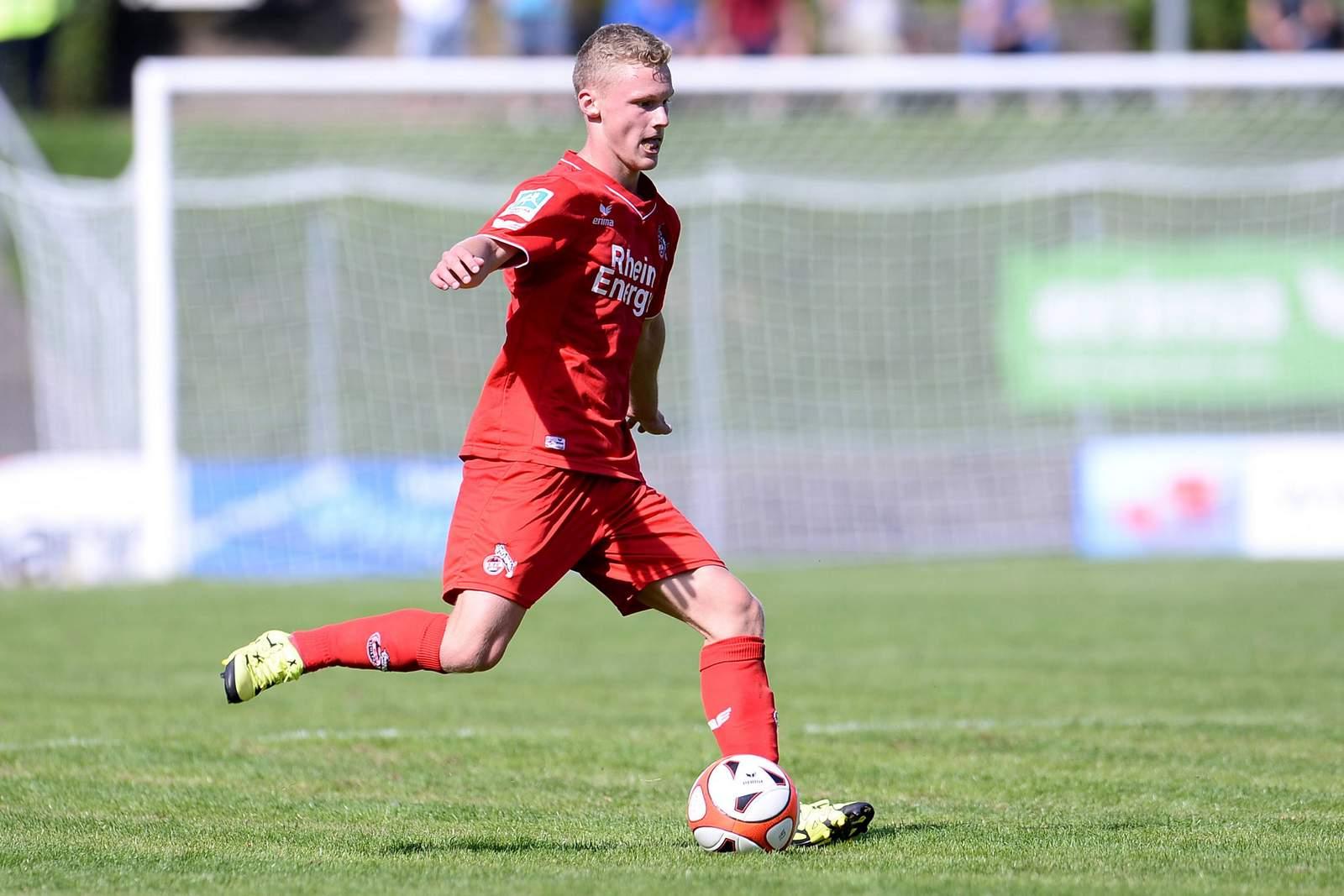 Michael Clemens bei der U23 des 1. FC Köln