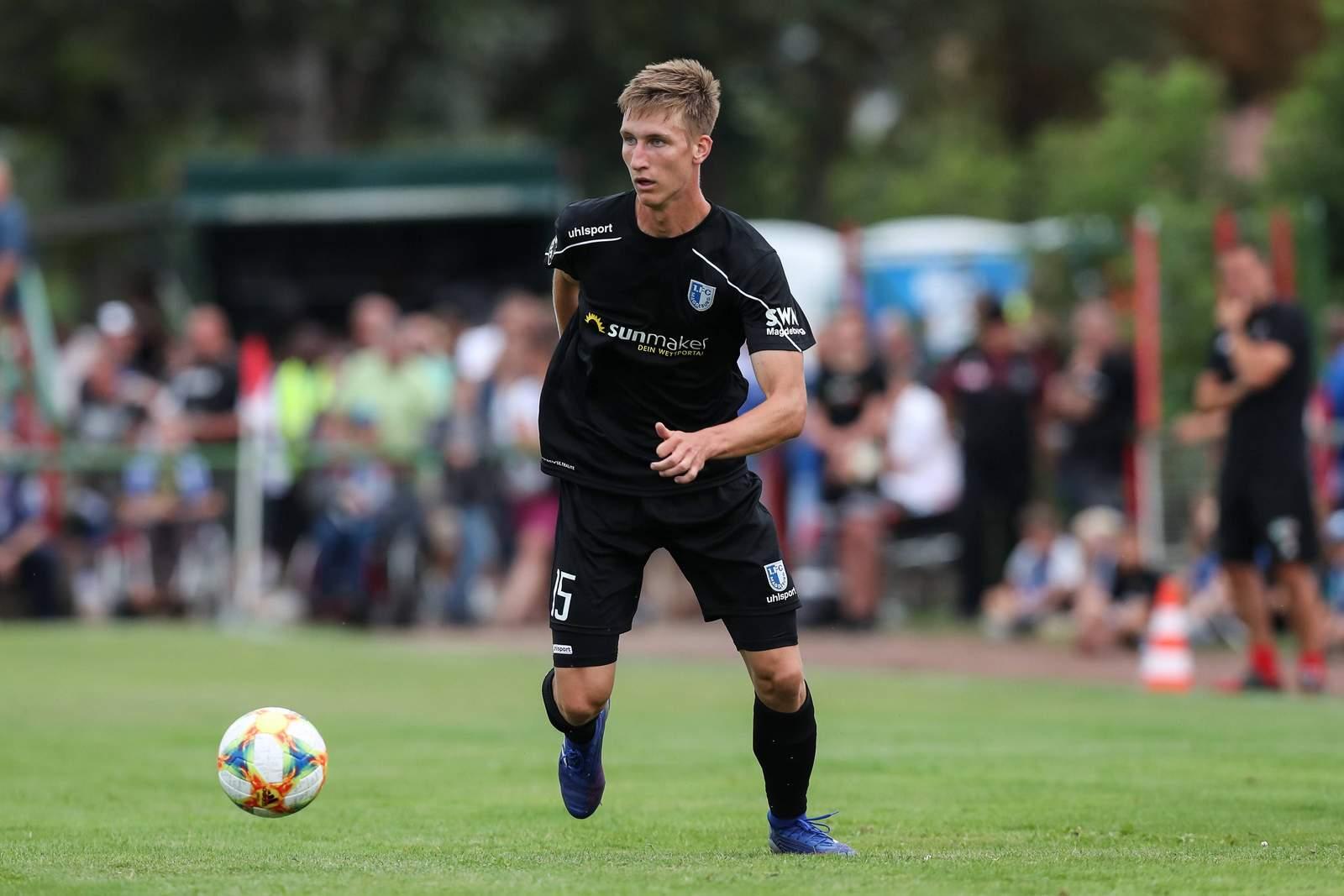 Pascal Schmedemann vom 1. FC Magdeburg