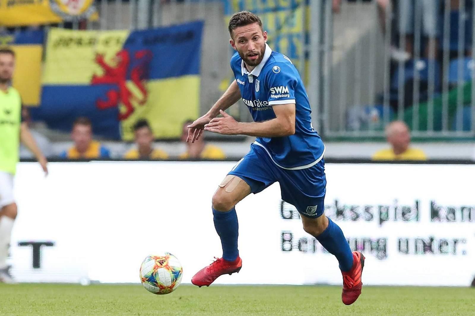 Rico Preißingr vom 1. FC Magdeburg