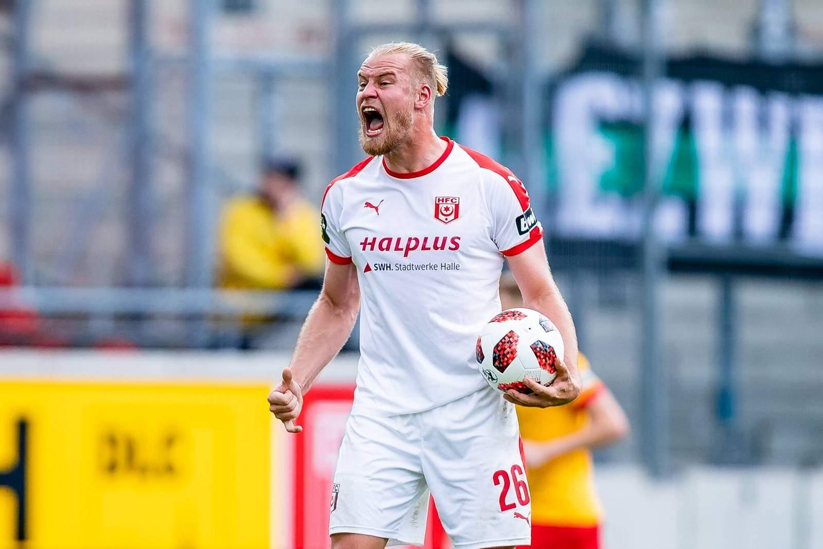 Sebastian Mai vom Halleschen FC