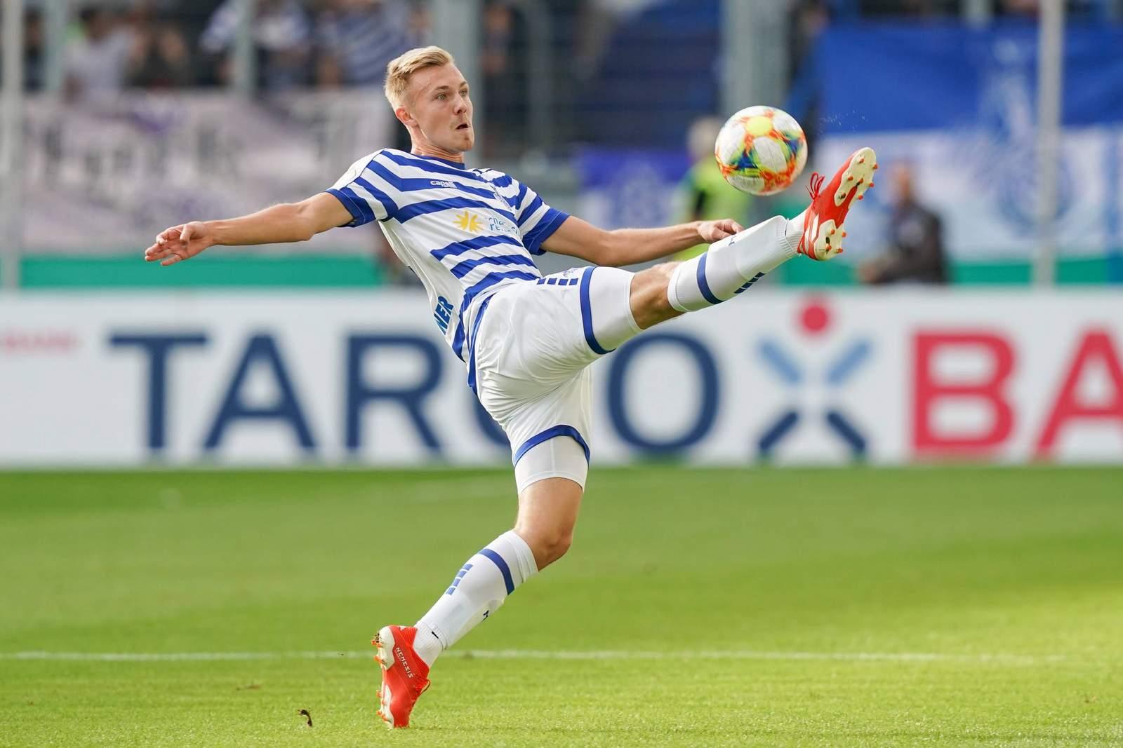 Lukas Daschner vom MSV Duisburg