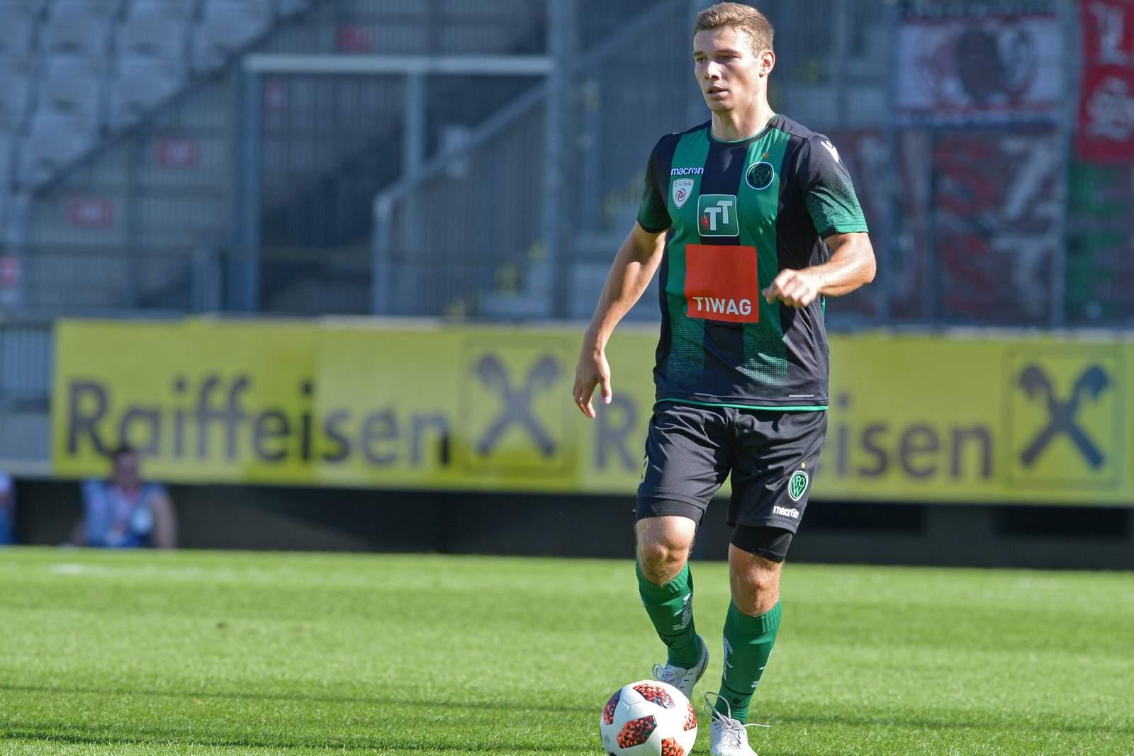 Manuel Maranda bei Wacker Innsbruck