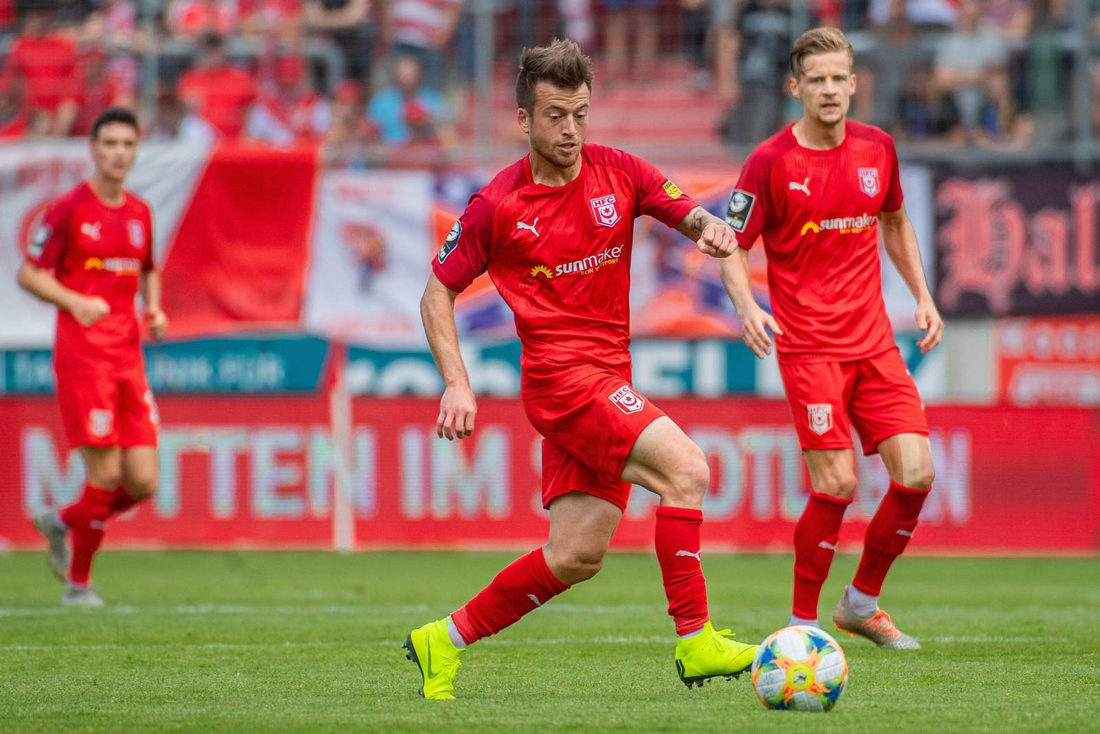 Patrick Göbel im HFC-Dress.