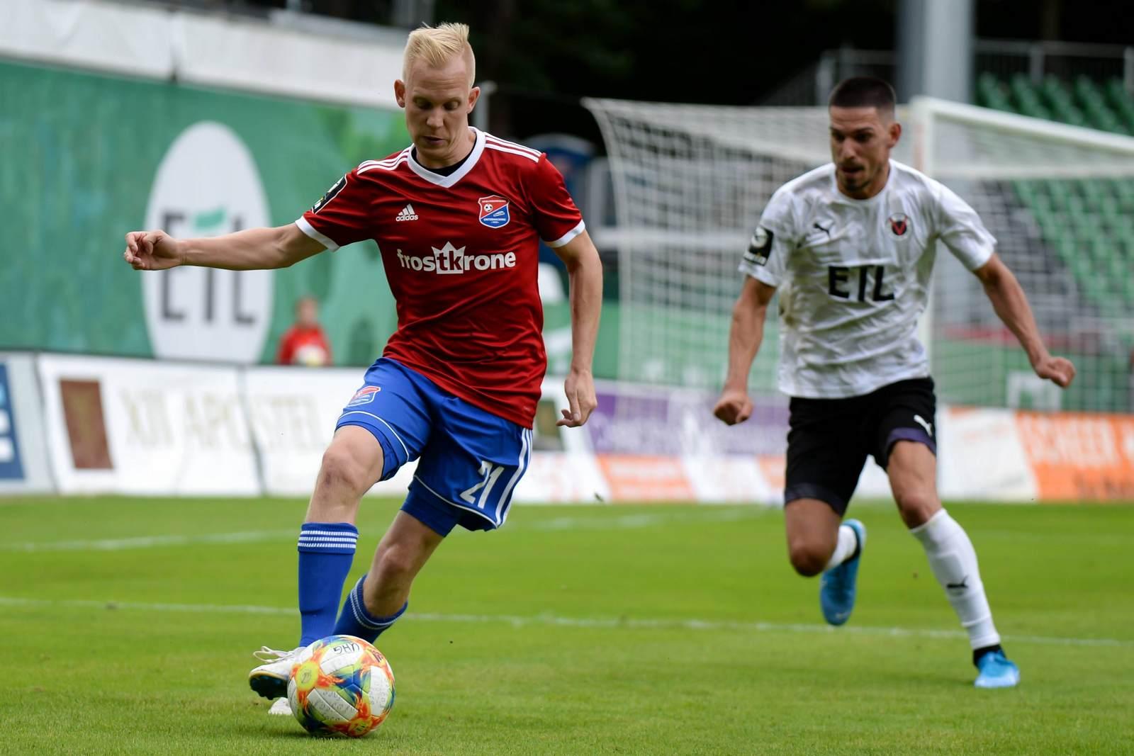 Sascha Bigalke am Ball