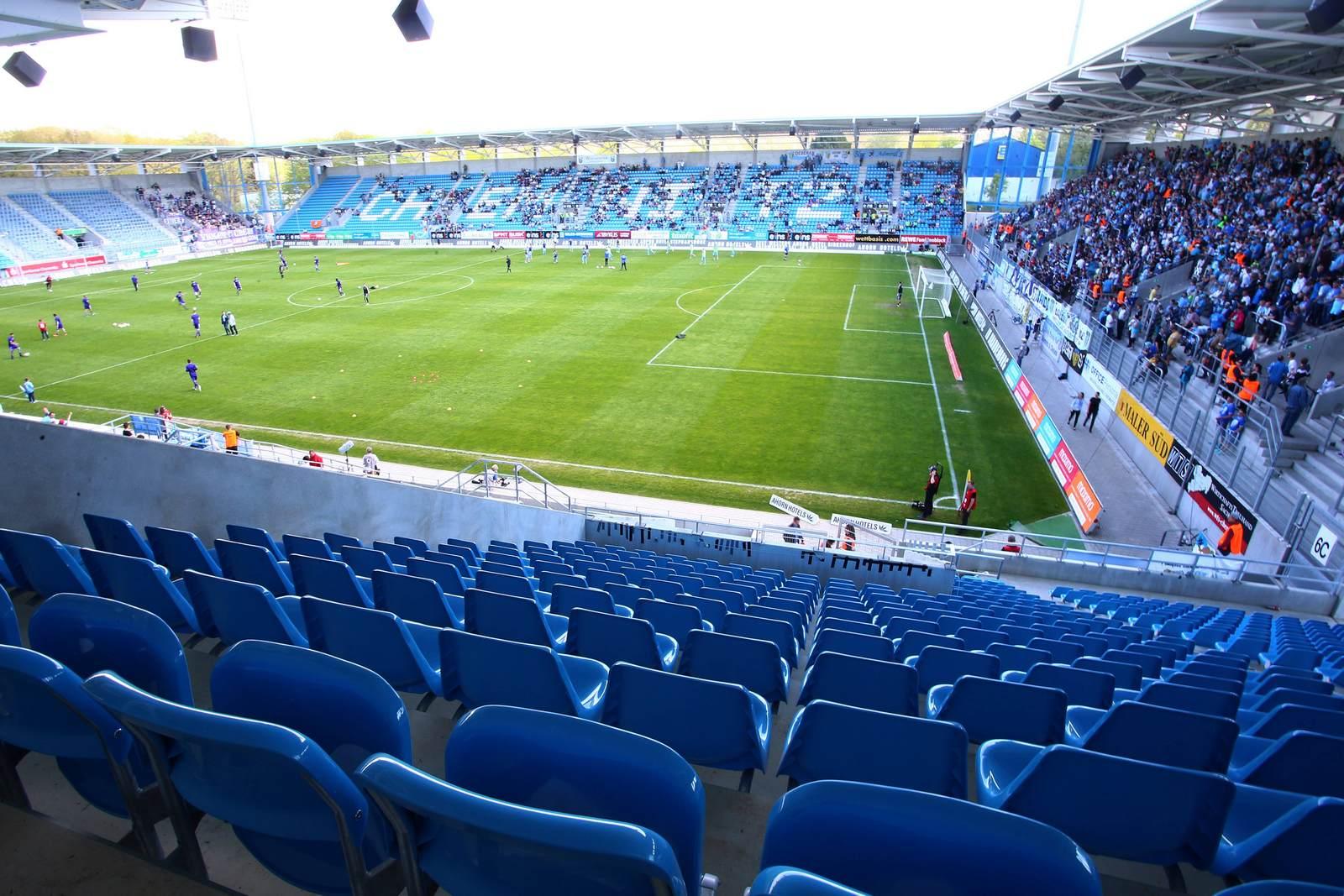 Stadion an der Gellertstraße in Chemnitz