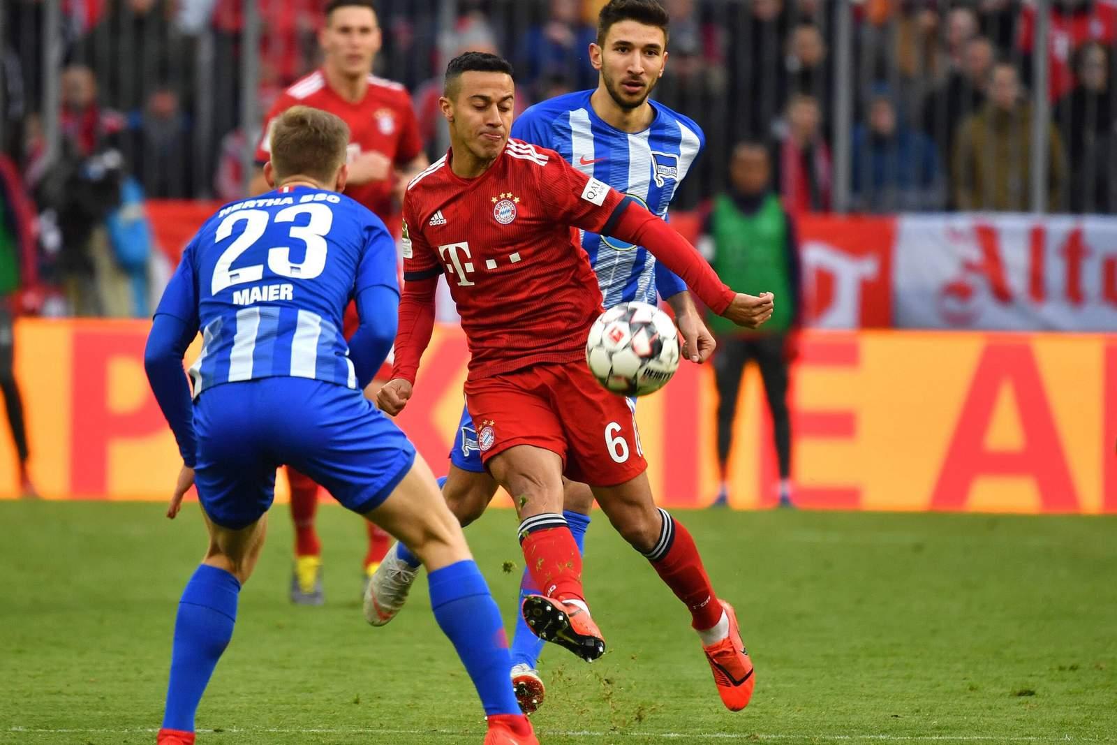 Setzt sich Thiago gegen Maier durch? Unser Wett Tipp: Bayern gewinnt gegen Hertha
