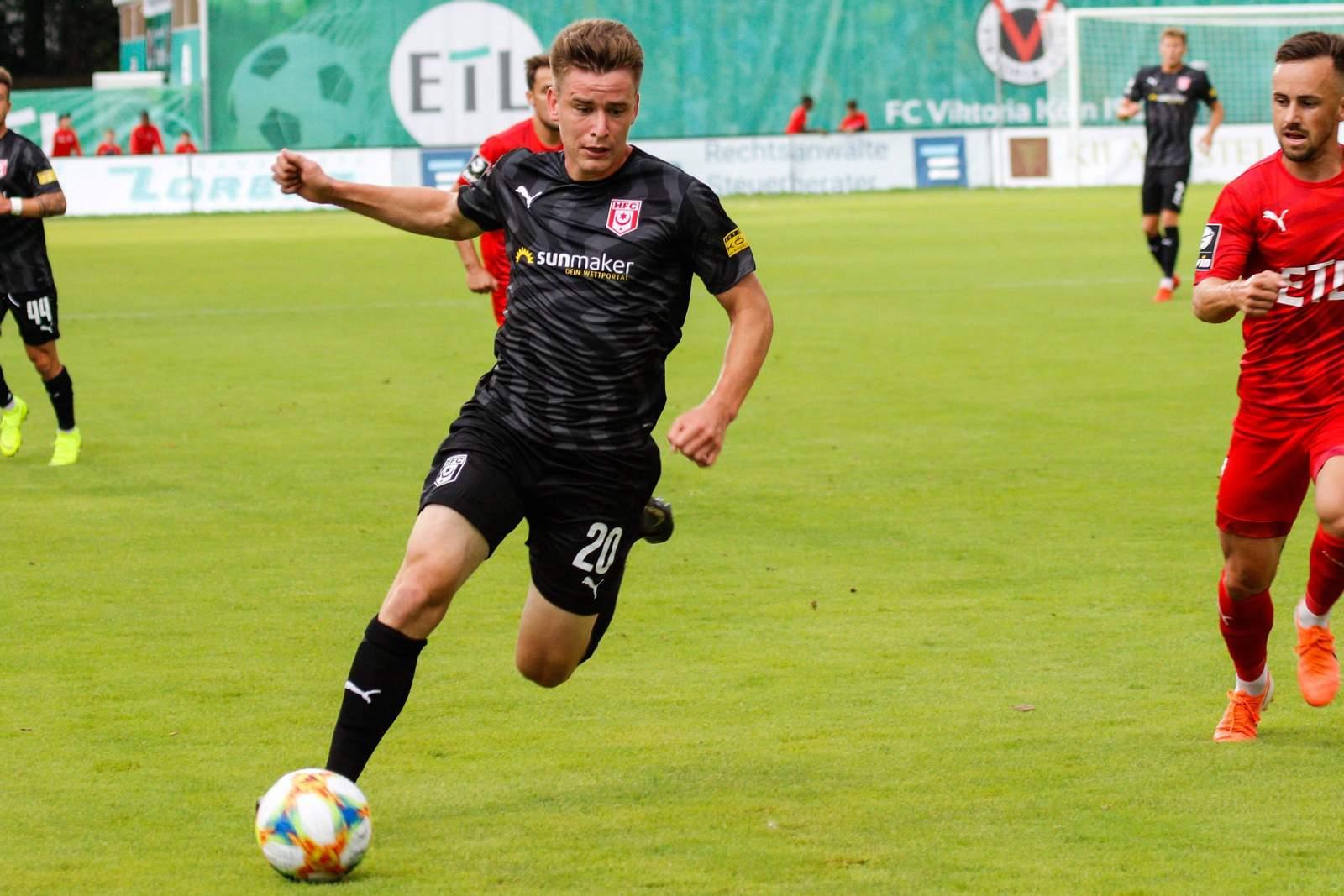 Florian Hansch vom Halleschen FC