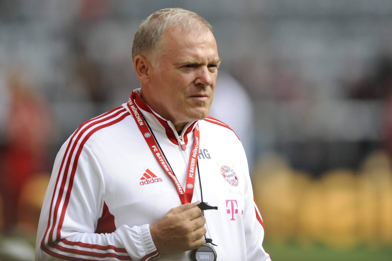 Hermann Gerland vom FC Bayern München
