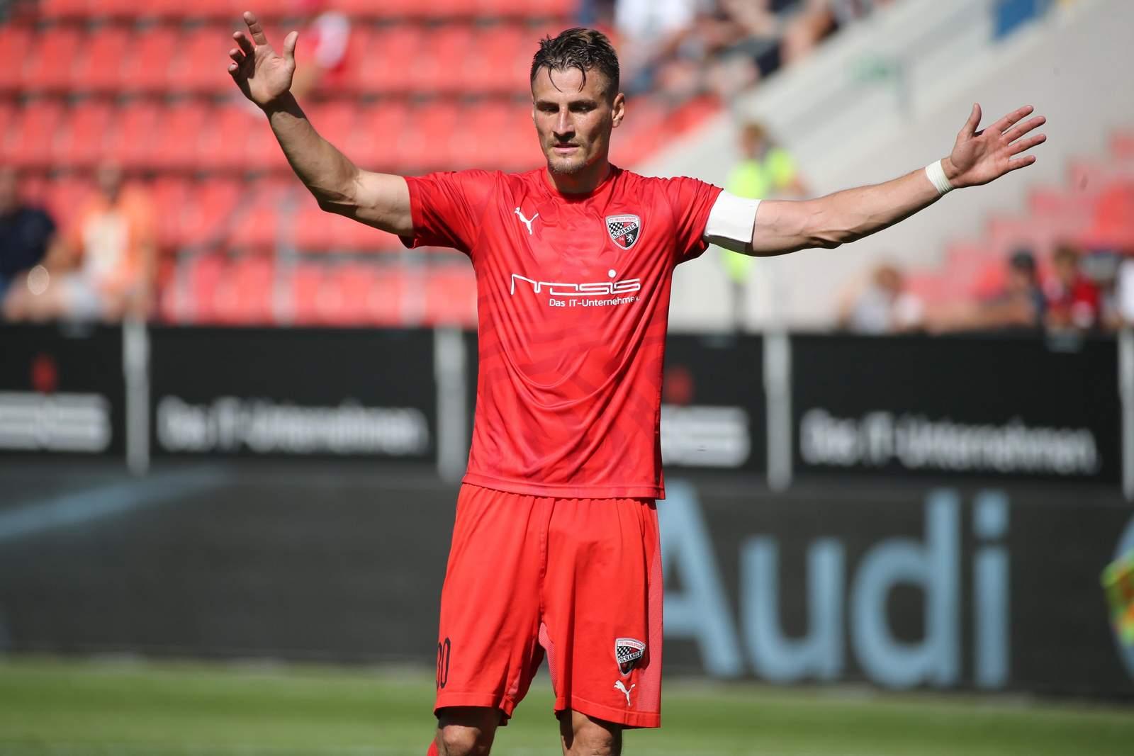 Stefan Kutschke vom FC Ingolstadt