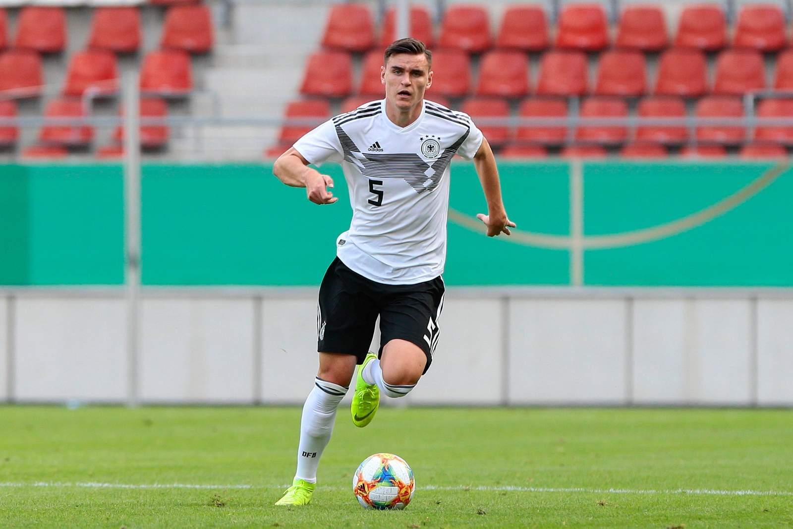 Thomas Keller bei der deutschen U20