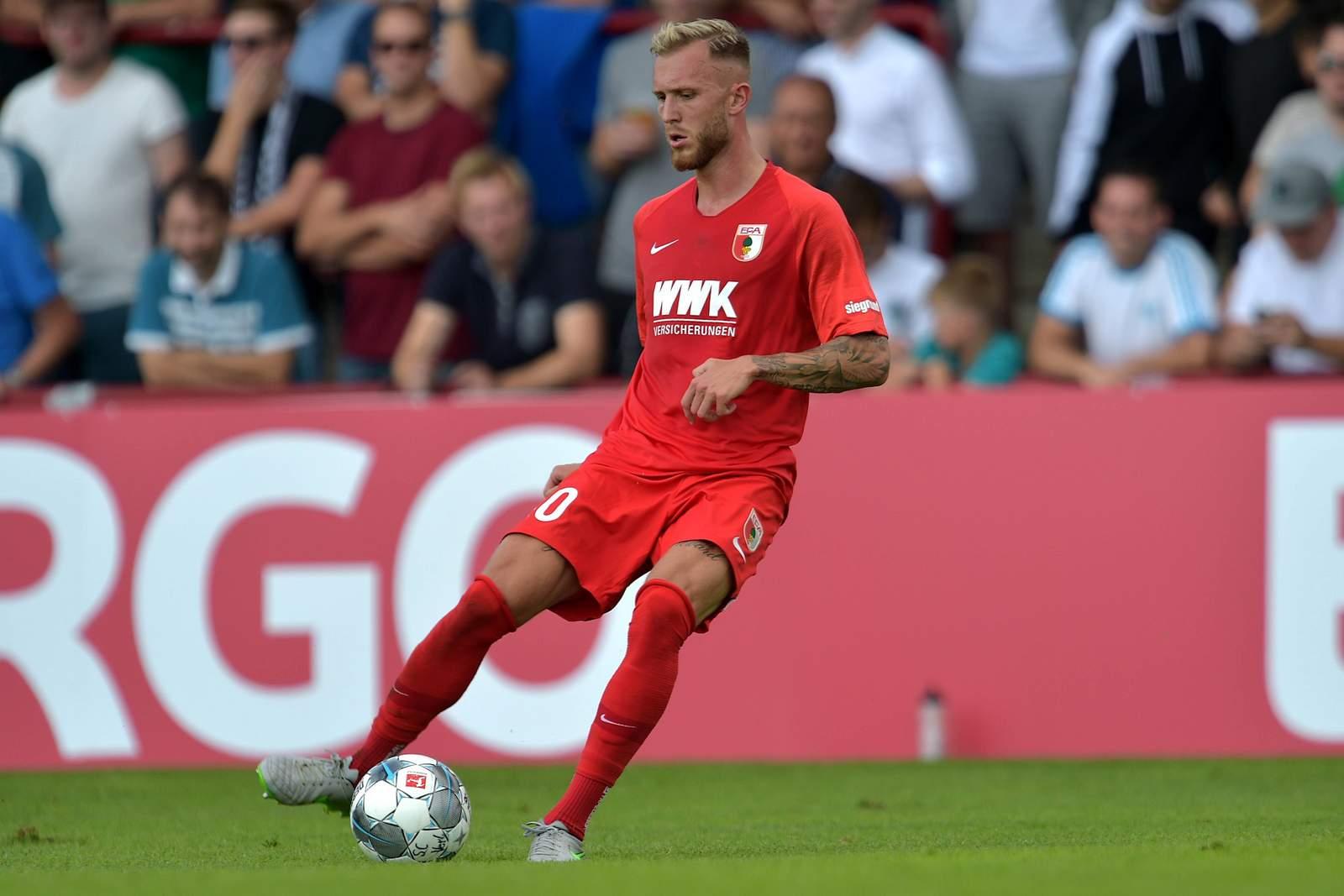 Tim Rieder beim FC Augsburg