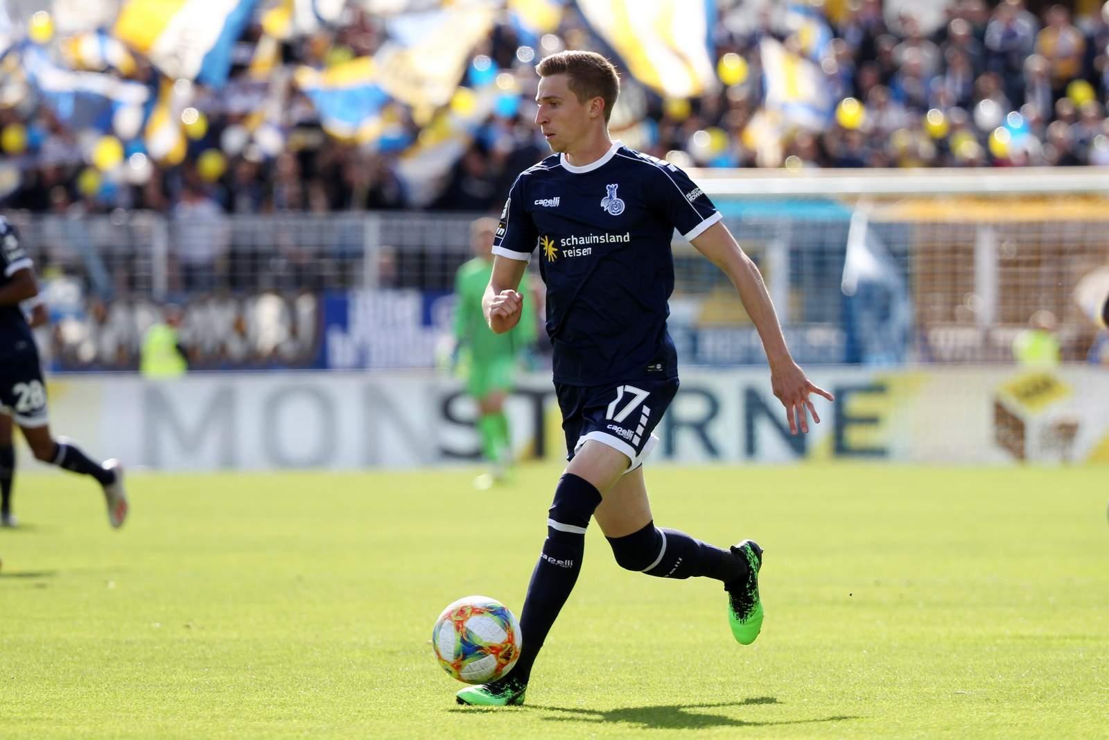 Arne Sicker vom MSV Duisburg.