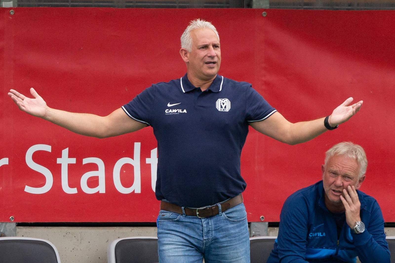 Christian Neidhart als Trainer des SV Meppen