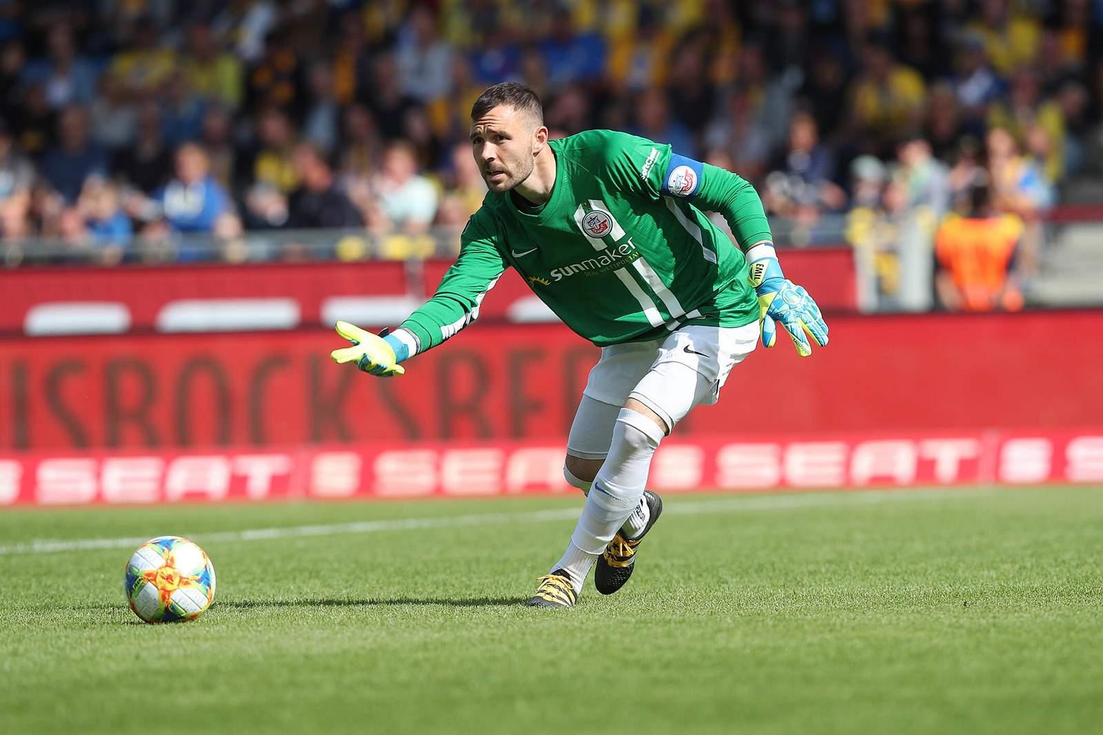 Markus Kolke im Spiel gegen Braunschweig.