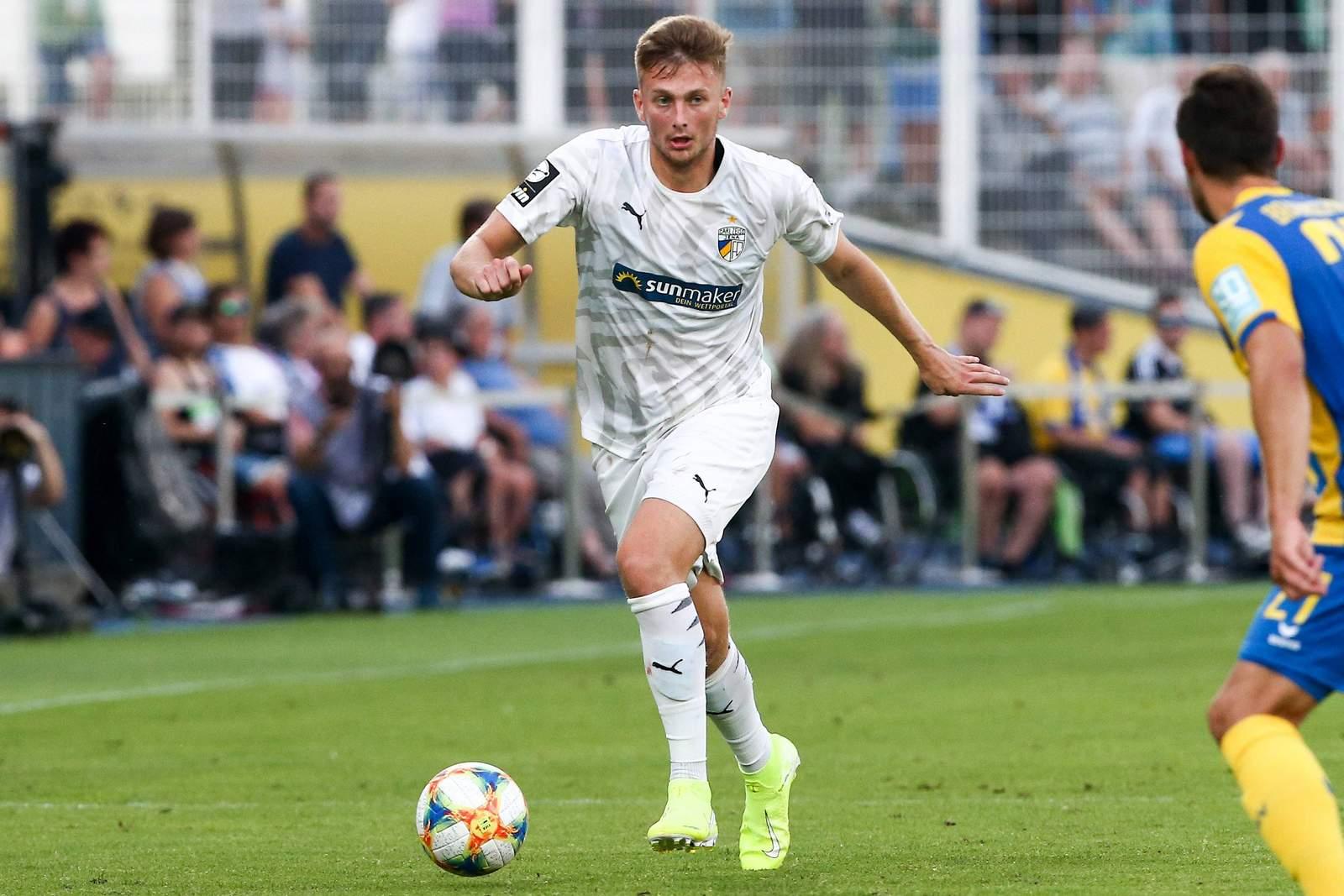 Ole Käuper gegen Eintracht Braunschweig.