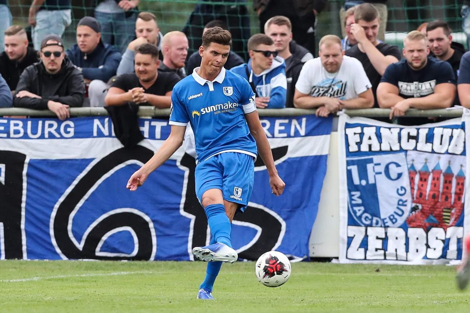 Tobias Müller vom 1. FC Magdeburg