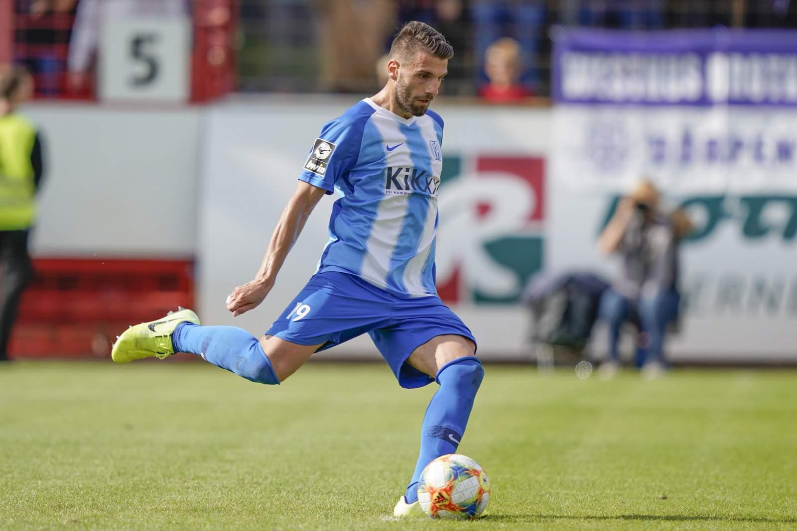 Valdet Rama gegen den FCK.
