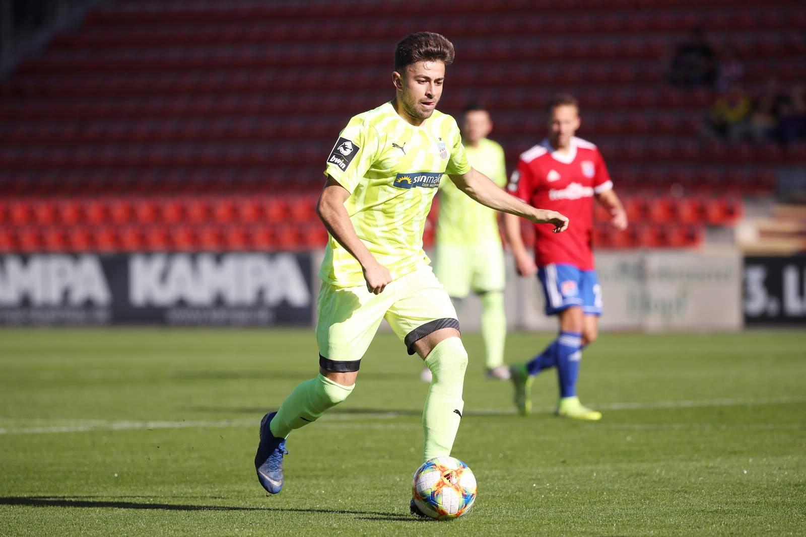 Marcus Godinho vom FSV Zwickau