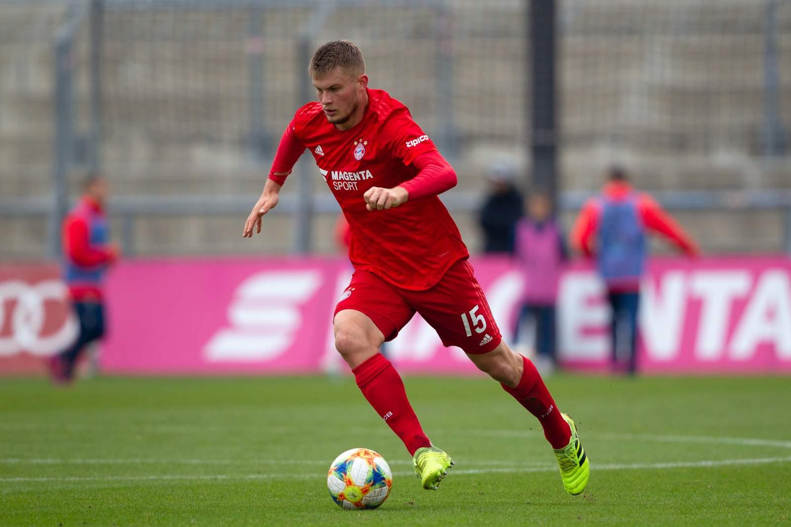 Lars Lukas Mai im Spiel gegen Braunschweig.