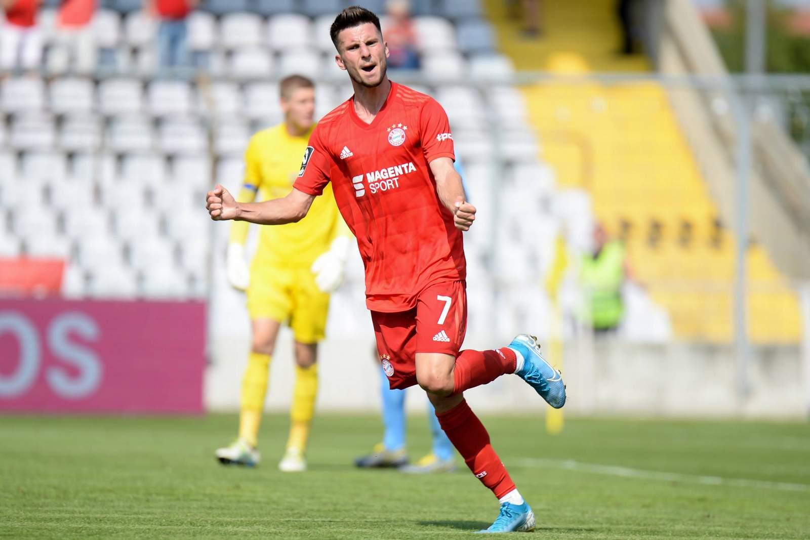 Leon Dajaku von der FC BAyern u23