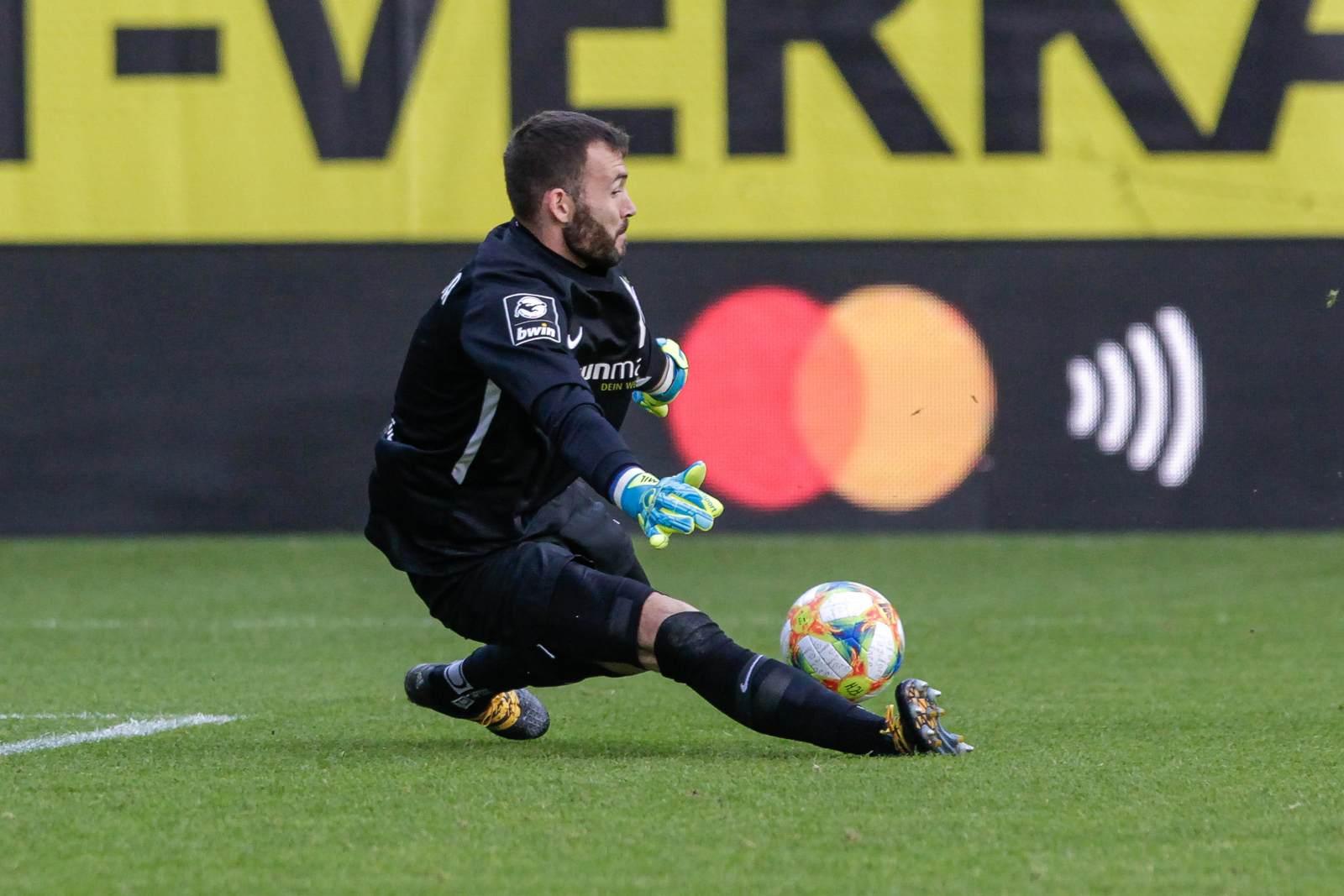 Markus Kolke im Tor des FC Hansa Rostock