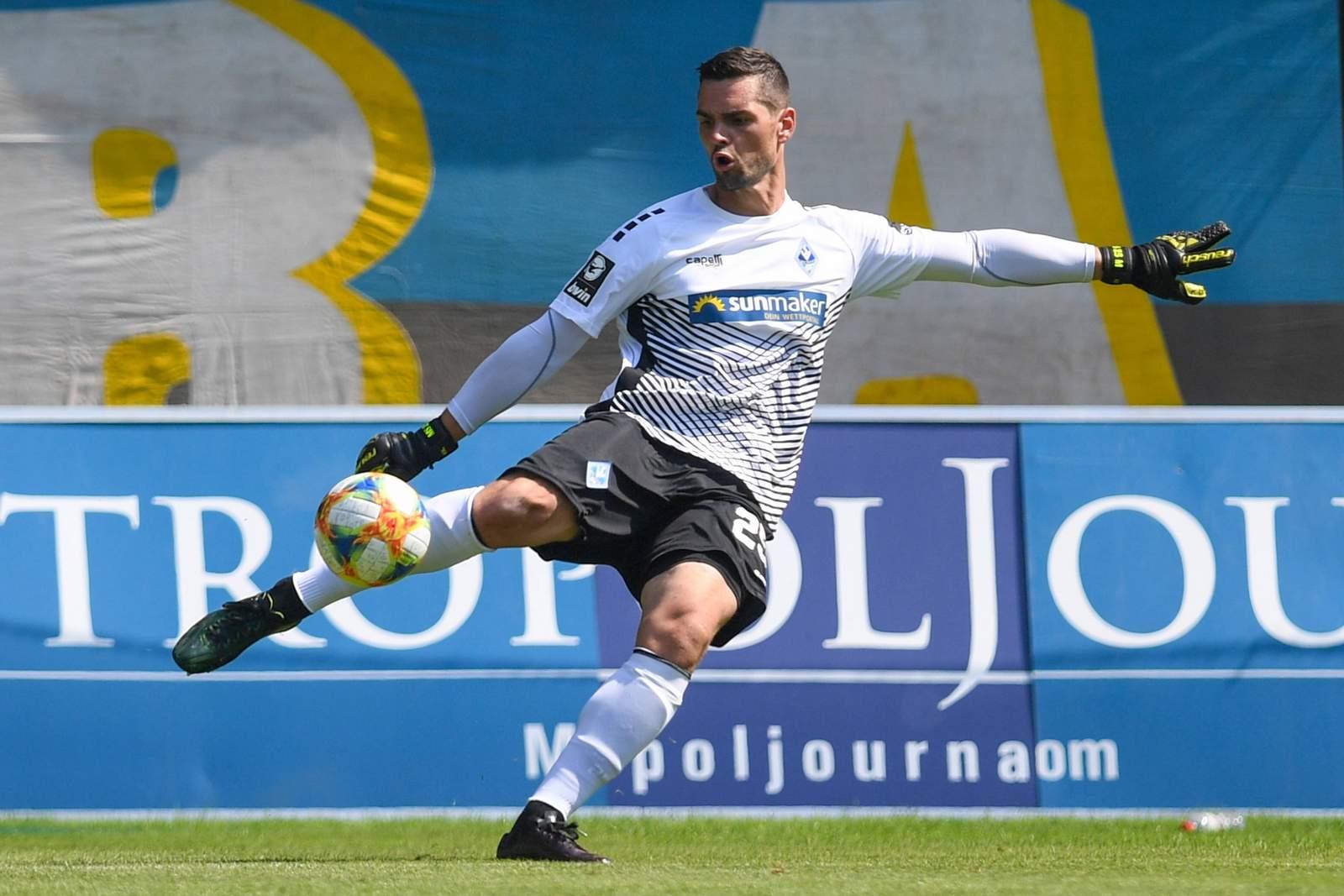 Markus Scholz im Heimspiel gegen Duisburg.