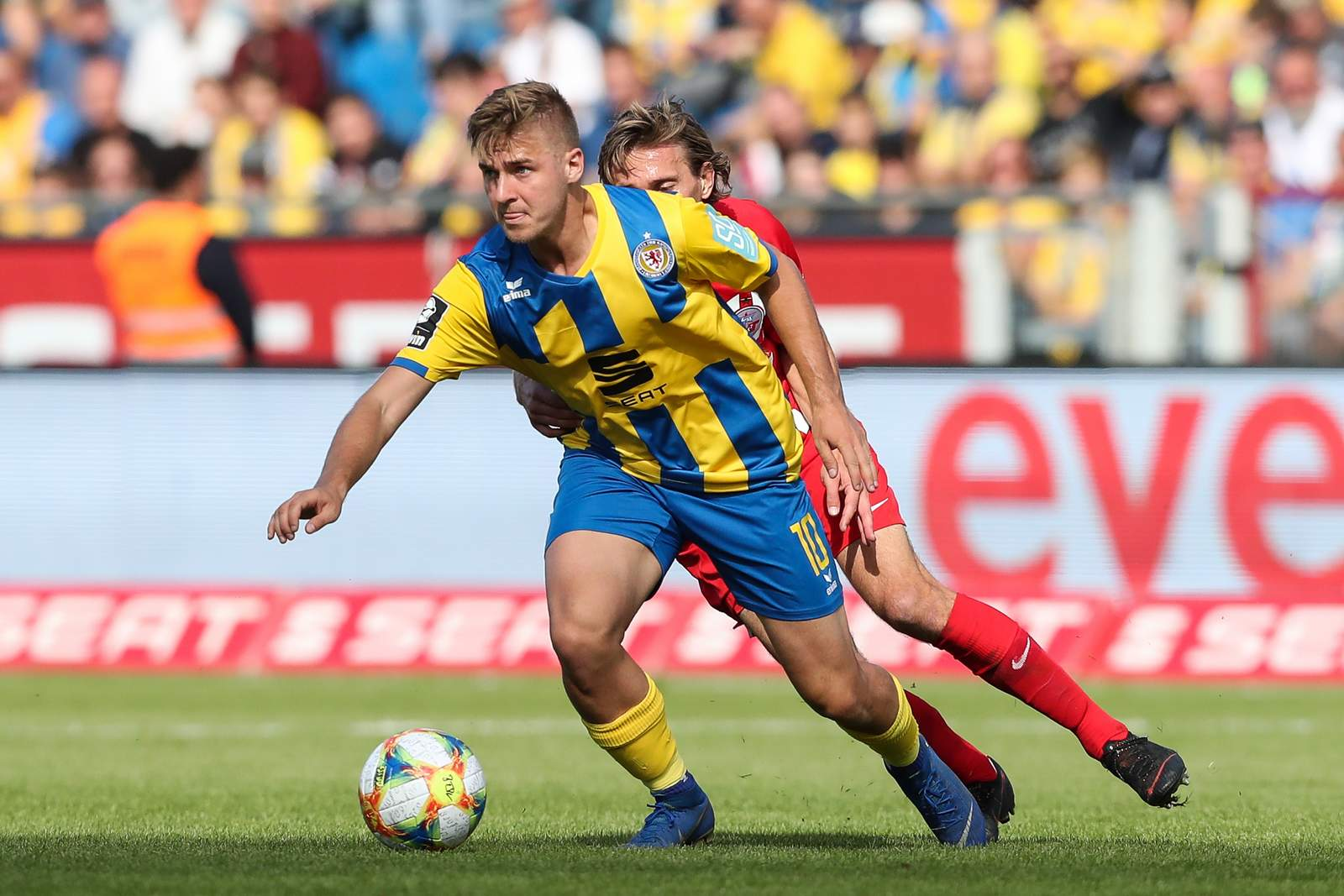Martin Kobylanski gegen Hansa Rostock.
