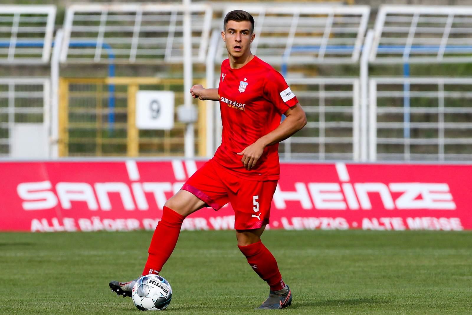 Maurice Hehne vom FSV Zwickau