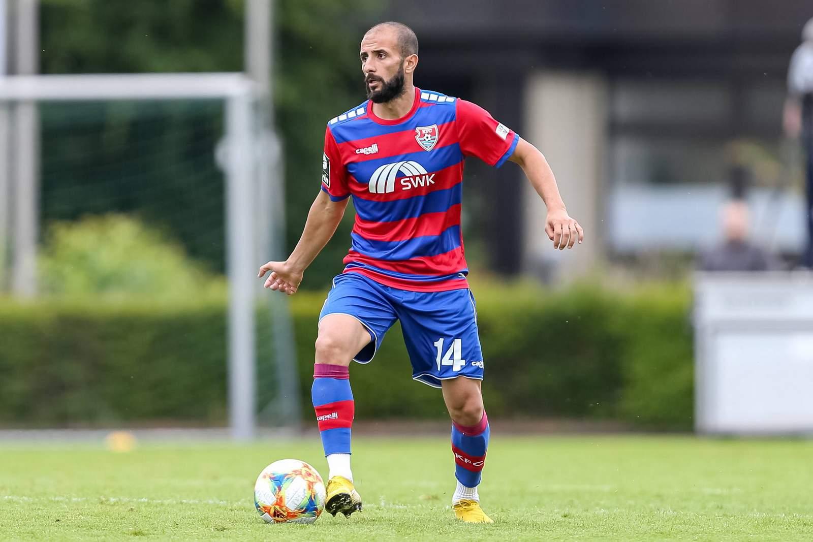 Necirwan Khalil Mohammad im Testspiel gegen Charleroi.
