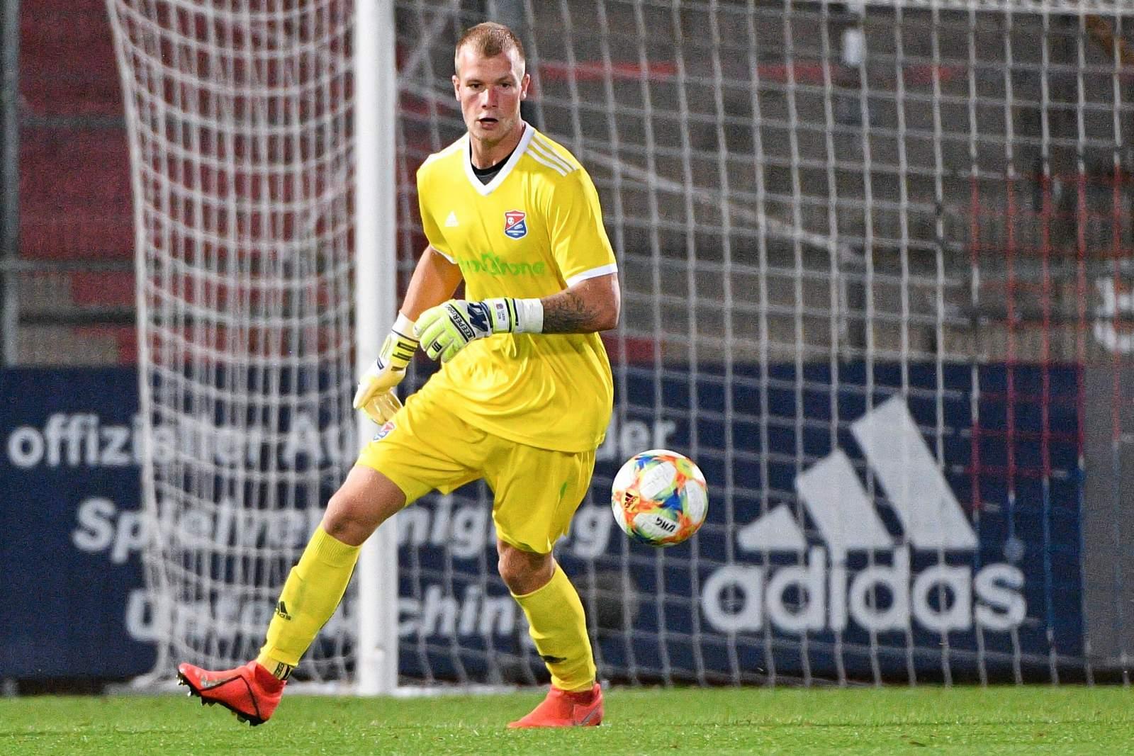 Nico Mantl im Spiel gegen Chemnitz.