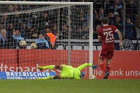 Unterhaching: Schwäche bei Elfmetern kostet Sieg im Pokal