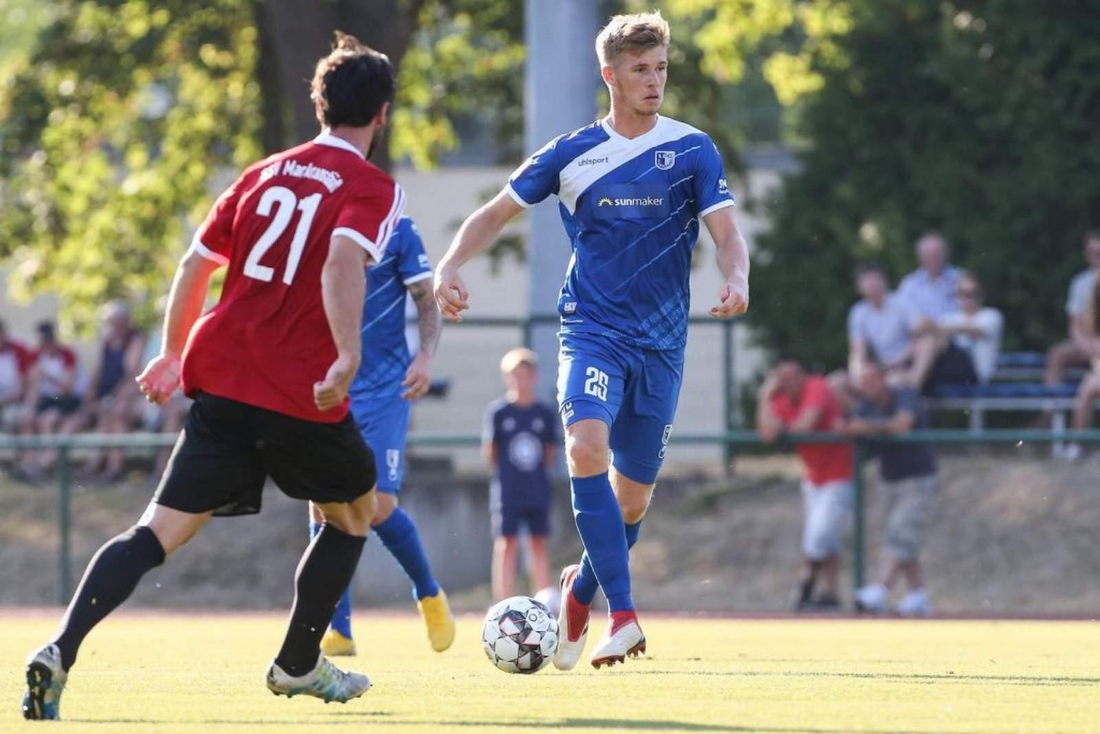 Philipp Harant vom 1. FC Magdeburg