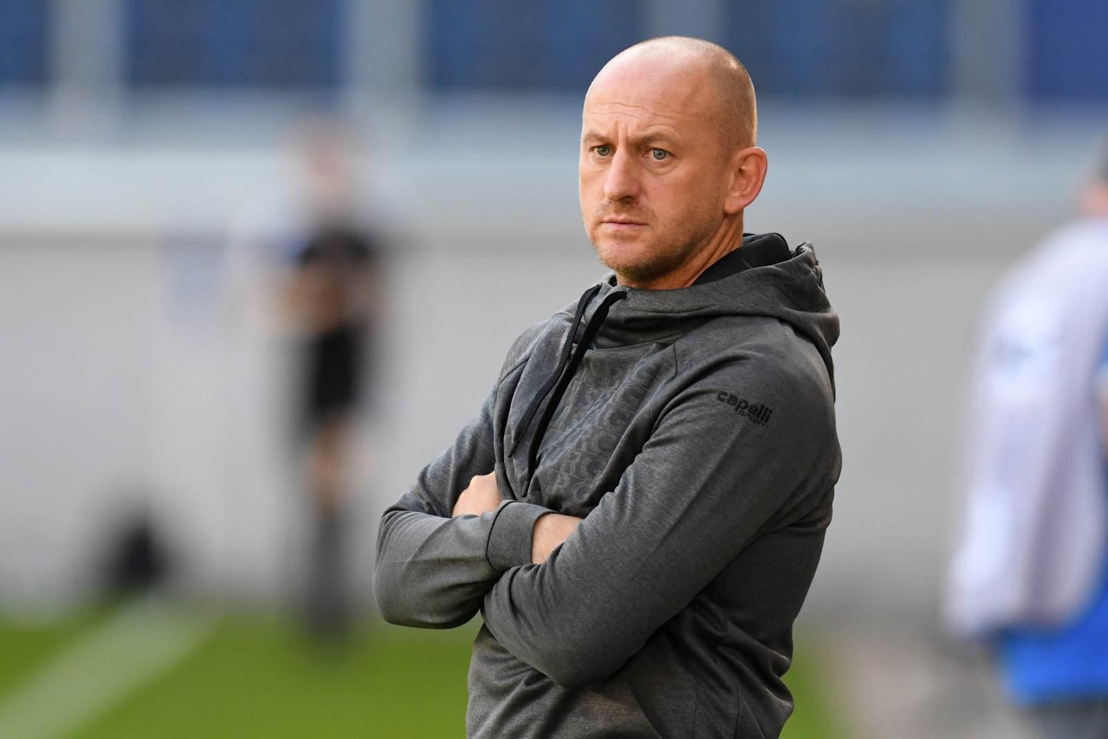 Trainer Torsten Lieberknecht beim MSV Duisburg