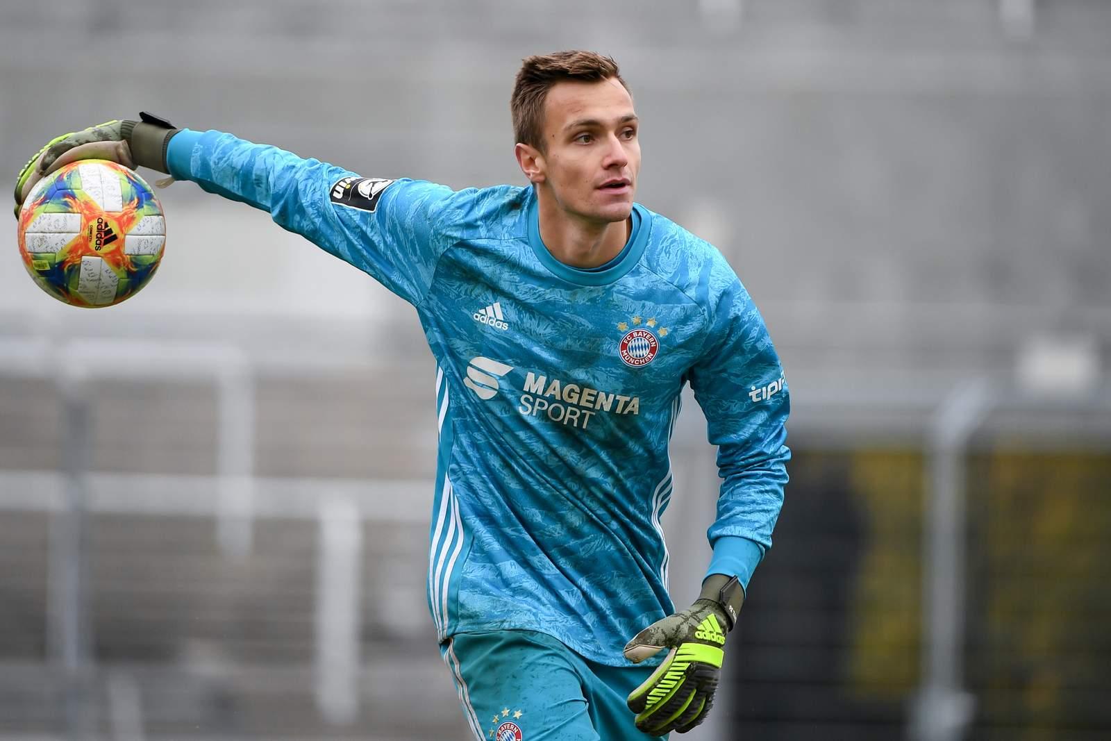 Christian Früchtl im Spiel gegen Magdeburg.