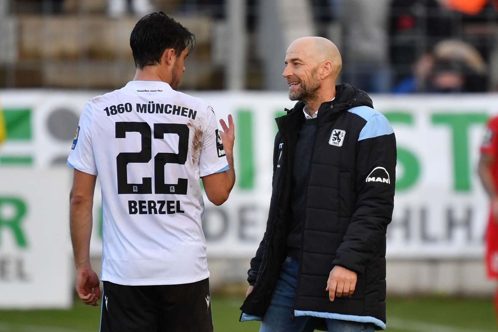 Günther Gorenzel (r.) im Gespräch mit Aaron Berzel.