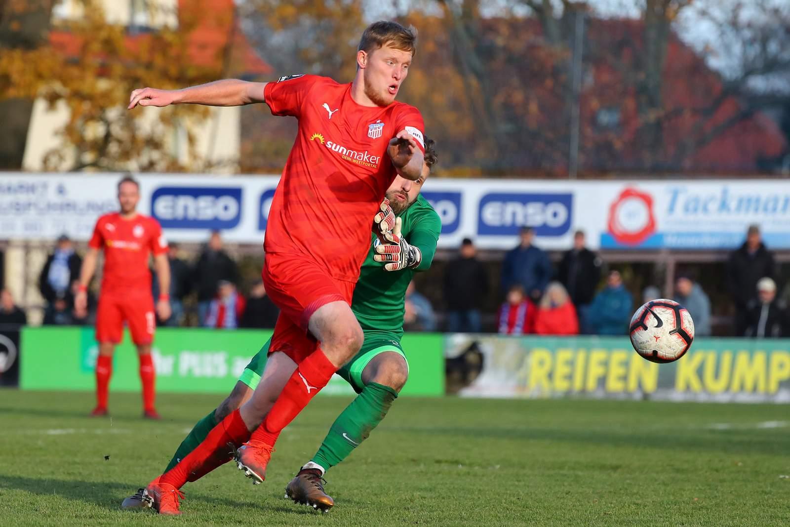 Gerrit Wegkamp im Landespokal gegen Neugersdorf