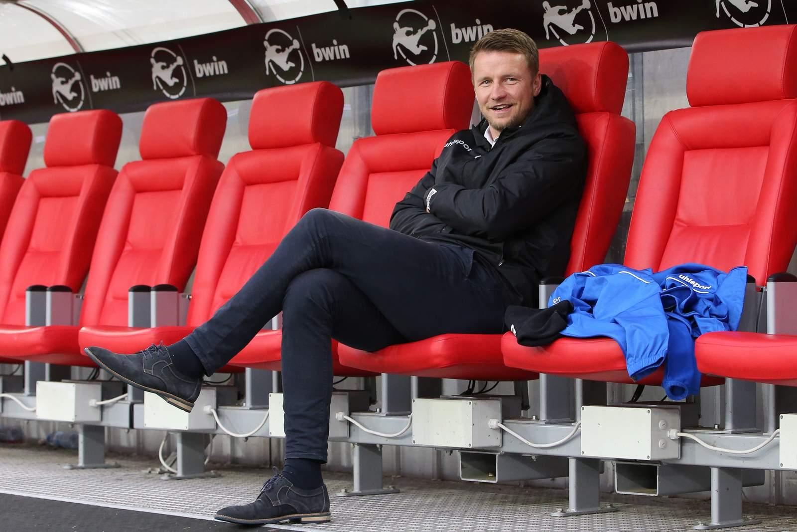 Maik Franz als Sportchef des 1. FC Magdeburg