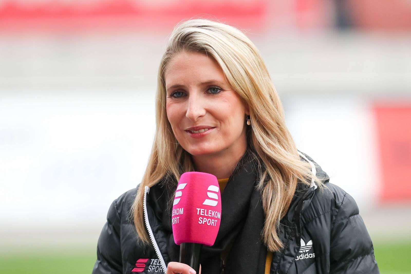 Stefanie Blochwitz bei Magenta Sport