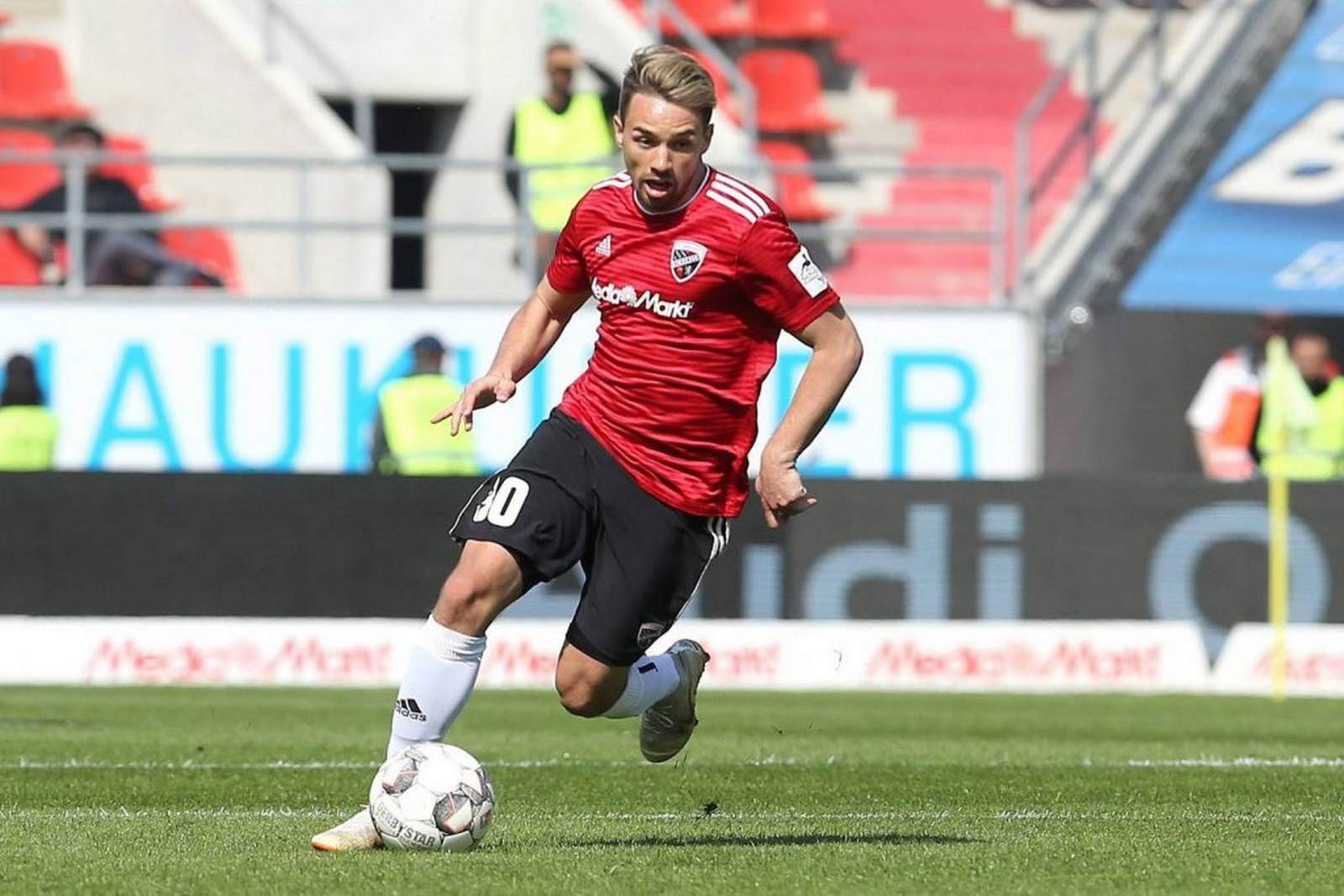 Thomas Pledl in Aktion für Ingolstadt