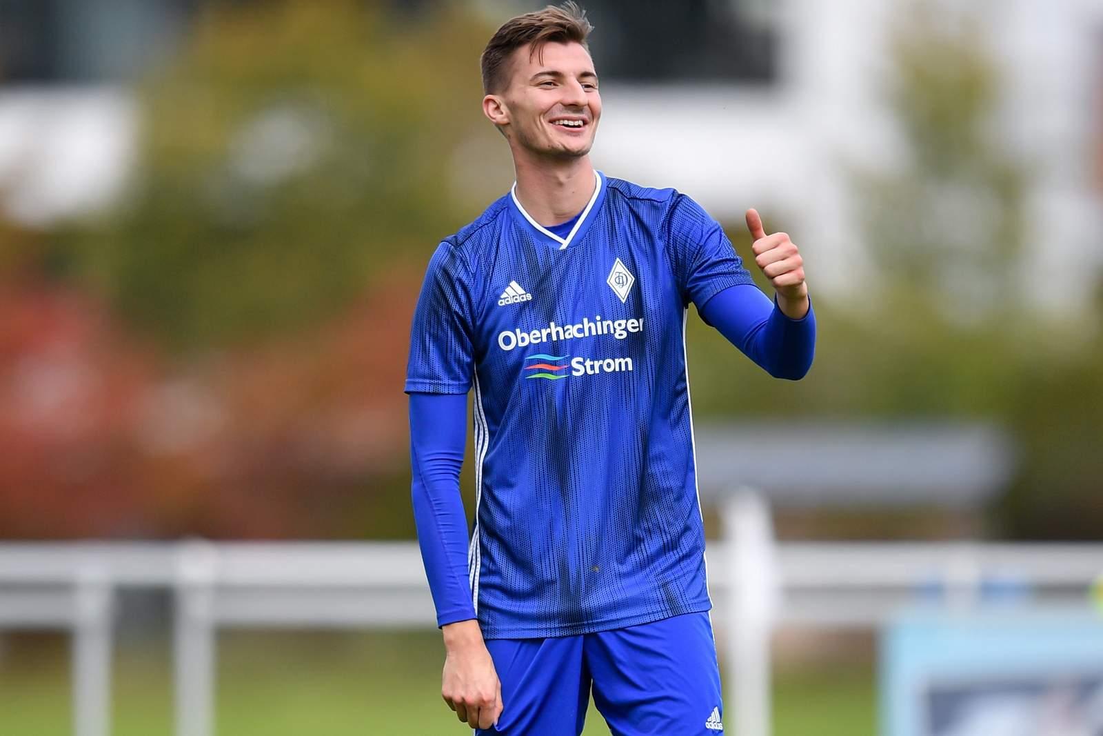 Michael Bachhuber vom FC Deisenhofen